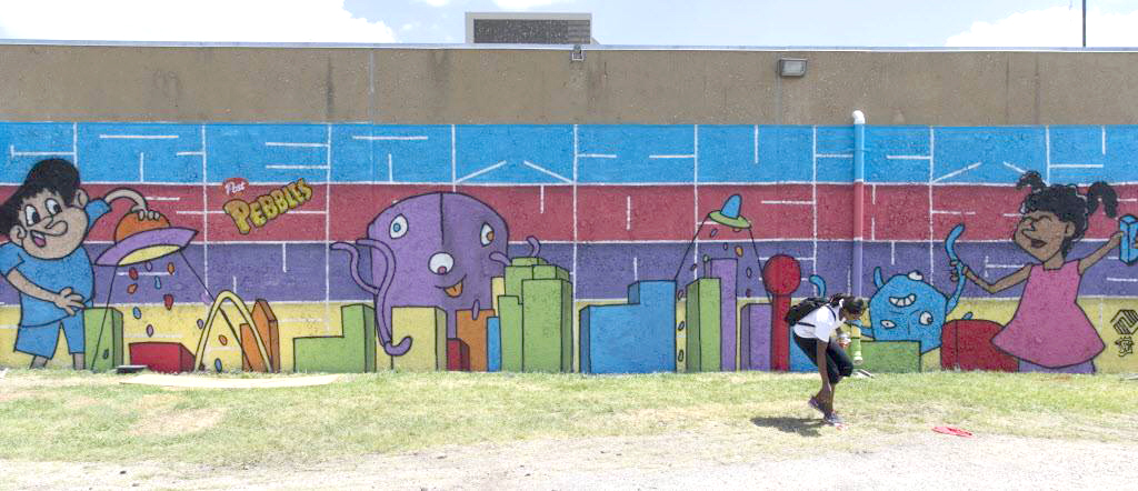 Mural Artista local