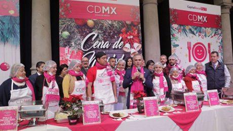 Ofrecerán 30 mil cenas de Navidad en la CDMX || El Hispano News