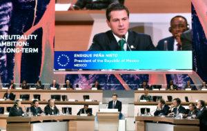 "Participa Presidente Peña Nieto en la Cumbre ""One Planet"" sobre Cambio Climático || EHN"