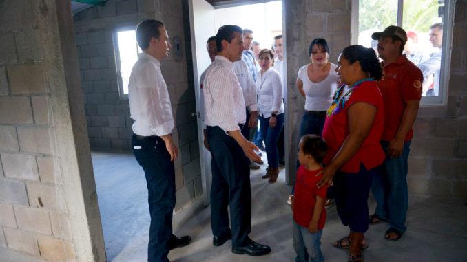 Entrega Peña Nieto viviendas a familias de Chiapas afectadas por terremoto de septiembre || El Hispano News