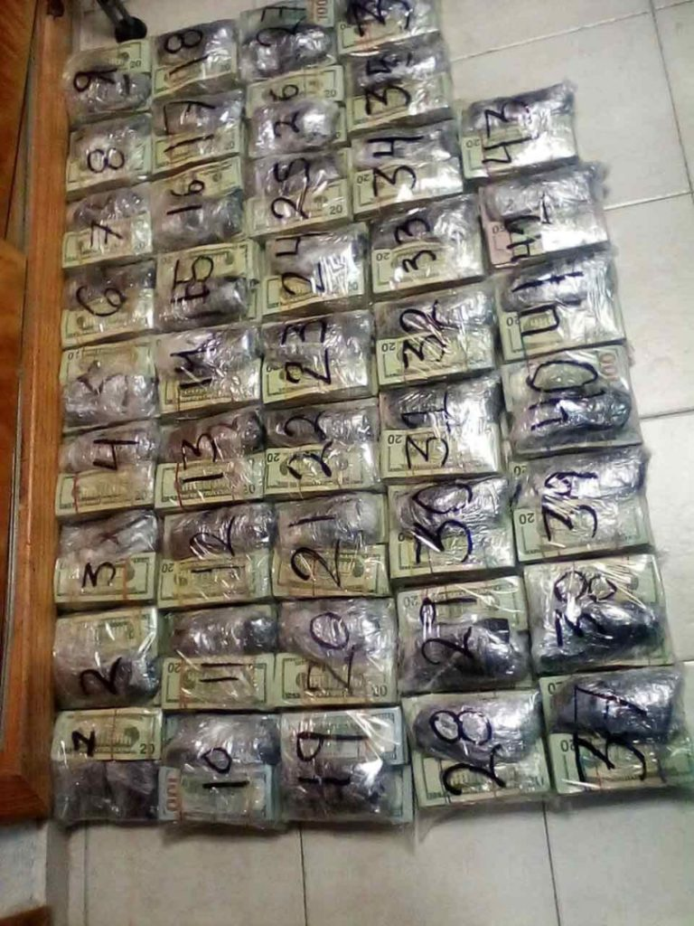 Casi un millón de dólares asegurados en autobús de Tamaulipas || El Hispano News