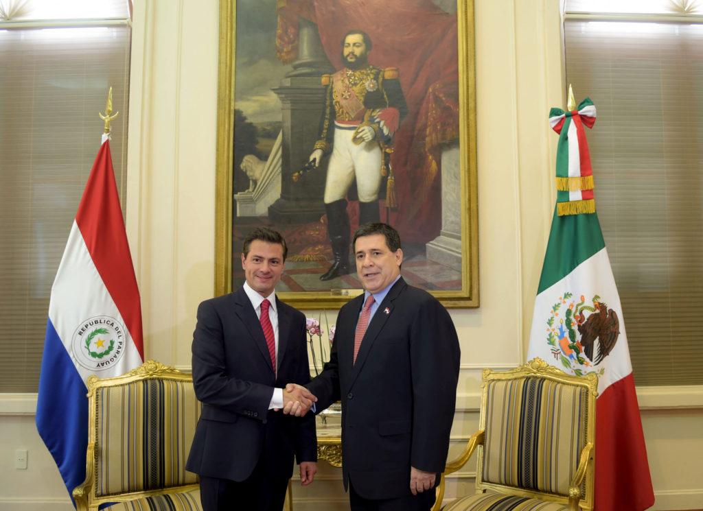 Peña Nieto refuerza lazos bilaterales con Paraguay || El Hispano News