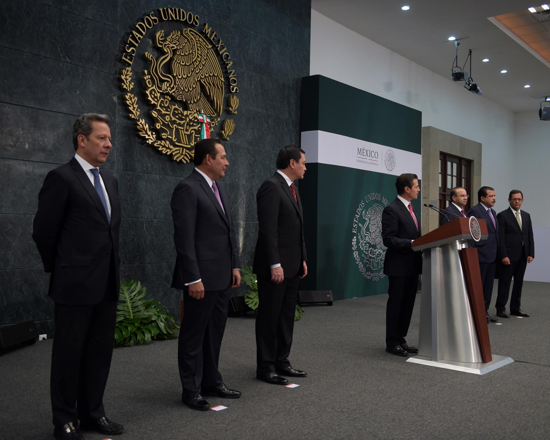 Anuncia el Presidente Enrique Peña Nieto cambios en su Gabinete || El Hispano News
