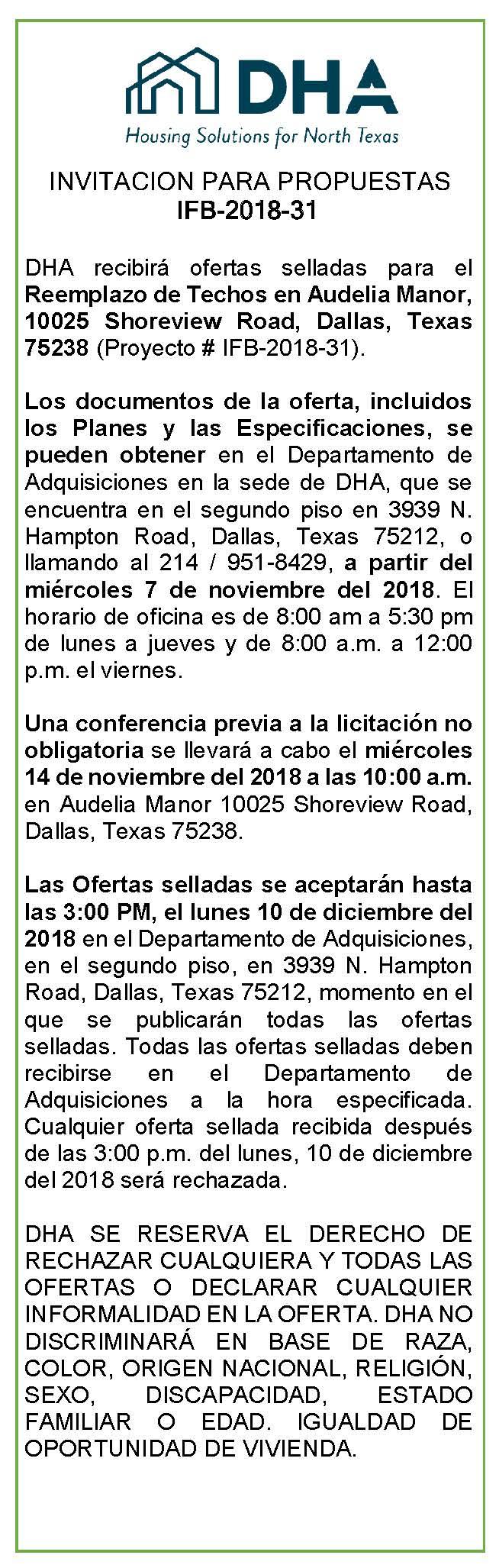 Autoridad de Vivienda de Dallas